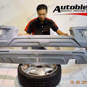 Bodykit Toyota Fortuner Zercon Z2 – Plastic ABS (Grade C)