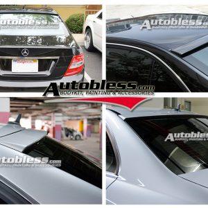 Roof Spoiler Mercedes Benz W204 – FRP