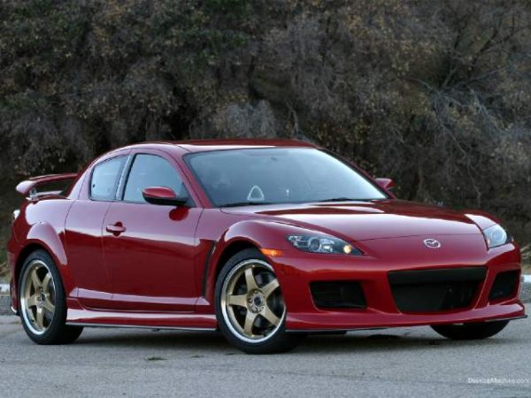 Bodykit Mazda RX8 MZ Speed – FRP