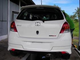 Bodykit Toyota Yaris TRD 2008 – Plastic ABS (Grade C)