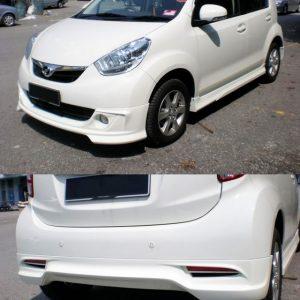 Bodykit Daihatsu Sirion Elegant – Plastic ABS (Grade C)