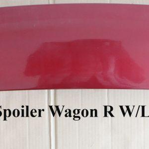 Wing Spoiler Suzuki Wagon R + Lamp – Plastic ABS (Grade A)