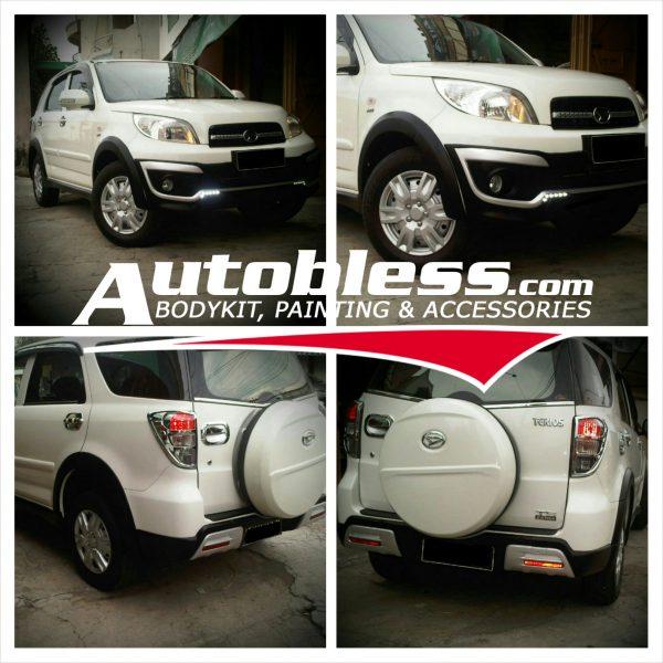 Bodykit Daihatsu Terios Adventure (2011-2014) – Plastic PU (Grade C)