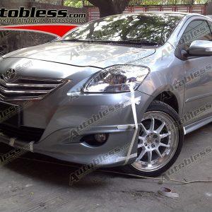 Bodykit Toyota Vios TRD 2008 – Plastic ABS (Grade C)