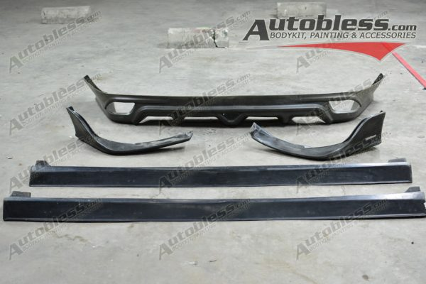 Bodykit Toyota Vios TRD 2014 – Plastic RIM (Grade A) Import Malaysia