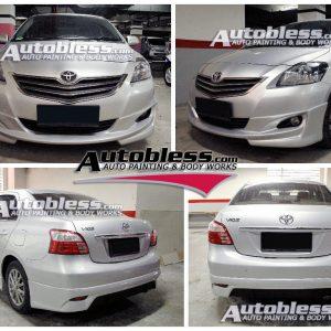 Bodykit Toyota Vios Viper 2008 – FRP