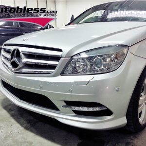 Bodykit M-Benz W204 C300 Style – Plastic PP (Grade S) Import Taiwan