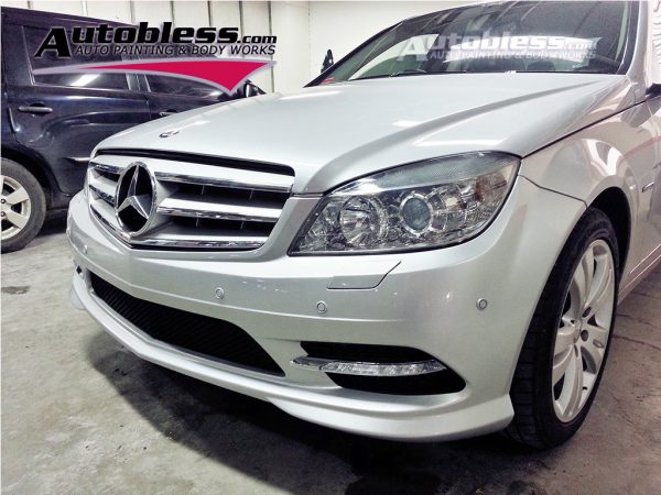 Bodykit M-Benz W204 C300 Style – Plastic PP (Grade S) Import Taiwan