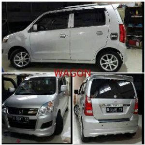 Bodykit Suzuki Karimun Wagon R VS – Plastic ABS (Grade B)