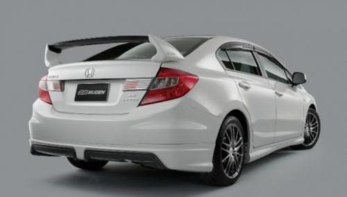 Wing Spoiler Honda Civic FB 2013 Mugen RR – FRP