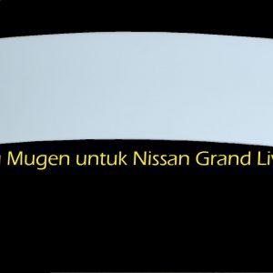 Wing Spoiler Nissan Grand Livina Mugen – FRP