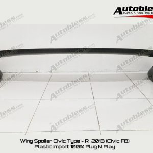 Wing Spoiler Honda Civic FB 2013 Type R – FRP
