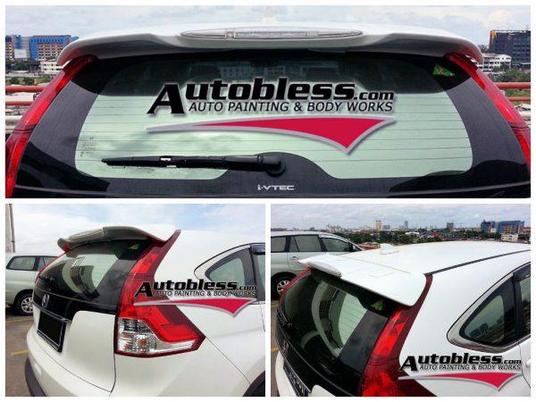 Wing Spoiler Honda CRV Modulo 2013 – Plastik ABS (Grade A)