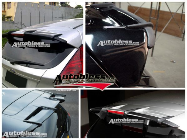 Wing Spoiler Extension Ford Fiesta Mountune – FRP