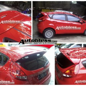 Wing Spoiler Ford Fiesta Sporty – Plastic ABS (Grade A) Import Taiwan