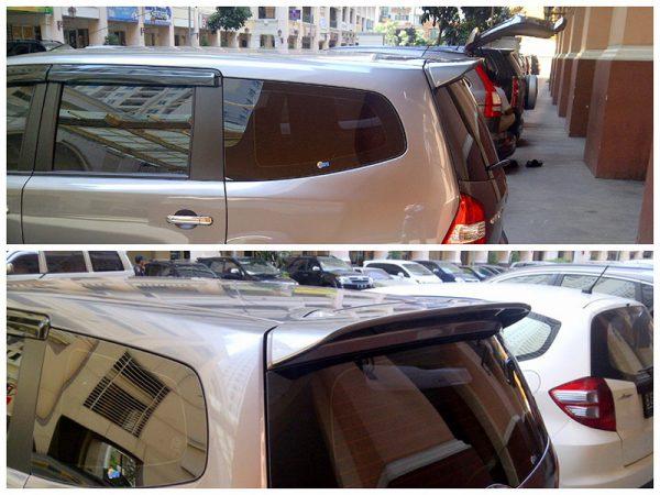 Wing Spoiler Nissan Grand Livina 2008 – Plastic ABS (Grade A)