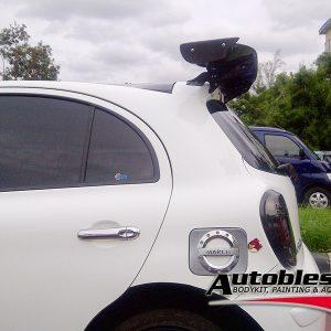 Wing Spoiler Honda GE8 Jazz Js Racing (Universal)