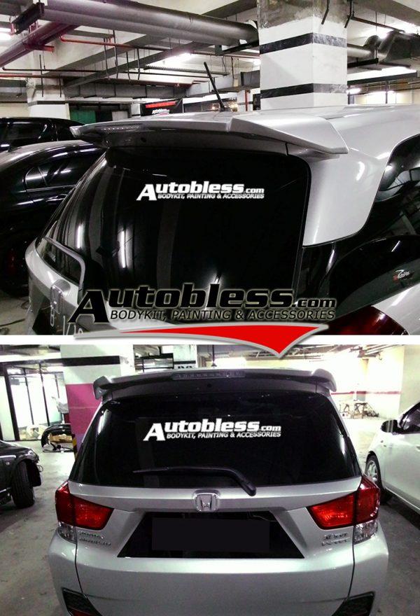 Wing Spoiler Honda Mobilio RS + Lamp – Plastik ABS (Grade A)