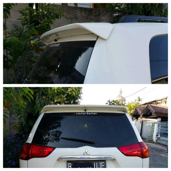 Wing Spoiler Mitsubishi Pajero – Plastic ABS (Grade A)