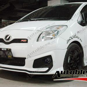 Bodykit Toyota Yaris TRD 2012 (untuk 2012-2013) – Plastic ABS (Grade B)