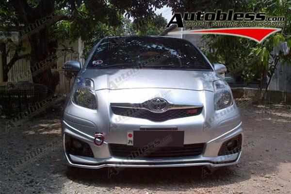 Bodykit Toyota Yaris TRD 2012 (untuk 2008-2012) – Plastic ABS (Grade C)