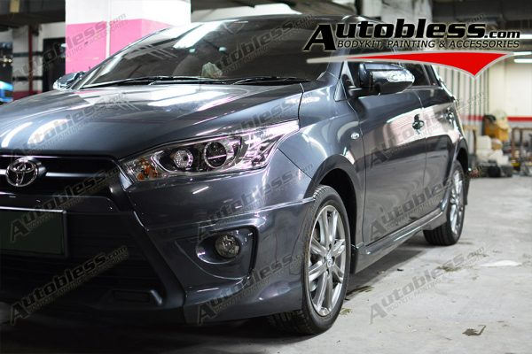 Bodykit Toyota Yaris TRD 2014 – Plastic ABS (Grade B)