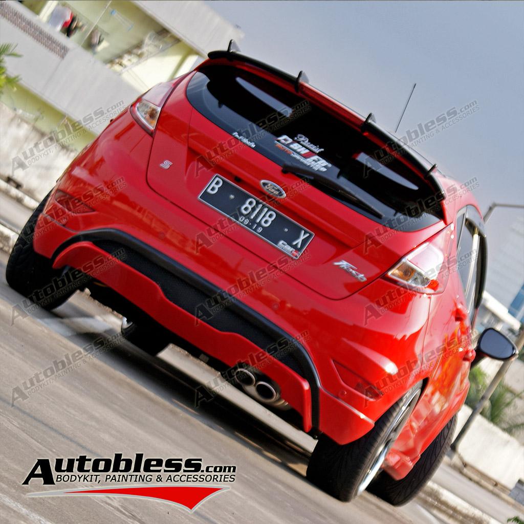 Diffuser Ford Fiesta STi – FRP